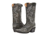 Volatile Rocker Grey Women's Pull On Boots Gray