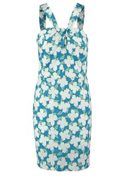 United Colors Of Benetton Summer Dress Turquoise