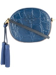 Tory Burch Mcgraw Crossbody Bag Blue