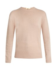 Joseph Round Neck Cashmere Sweater Light Pink