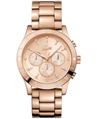 Lacoste Women's Charlotte Rose Gold Tone Stainless Steel Bracelet Watch 40Mm 2000964