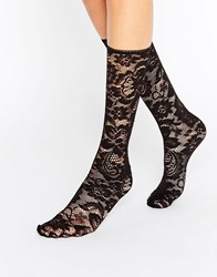 Gipsy Lace Socks Black