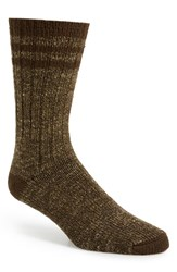 Men's Wigwam 'Pine Lodge' Midweight Socks Brown Heather