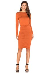 Rachel Pally Dori Dress Rust