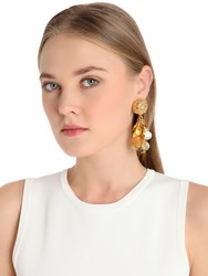 Tommaso Lonardo Coins Pendants Clip On Earrings