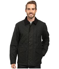Filson Quilted Mile Marker Navy Grey Men's Clothing Gray