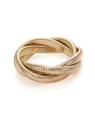 Kenneth Jay Lane Small Snake Chain Bracelet Goldtone