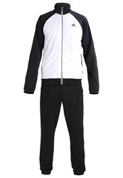 Adidas Performance Marker Tracksuit White Black