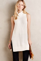 Moth Cowled Sweater Tunic Ivory