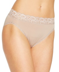 Vanity Fair Body Caress Ultimate Comfort High Cut Brief 13280 Toasted Coconut