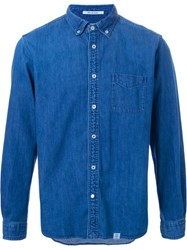 Bedwin And The Heartbreakers Denim Shirt Blue