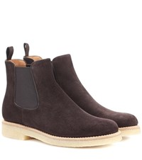 Church's Greenock Suede Chelsea Boots Brown