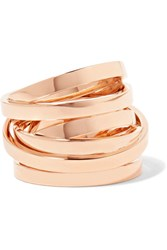 Repossi Technical Berbere 18 Karat Rose Gold Ring 52