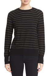 Equipment Women's 'Sloane' Stripe Wool Crewneck Sweater
