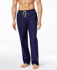 Michael Kors Men's Logo Print Woven Pajama Pants