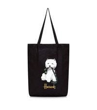 Harrods Westie Pocket Shopper Unisex