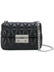 Michael Michael Kors Quilted Chain Shoulder Bag Women Leather One Size Black