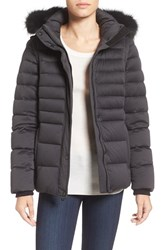 Andrew Marc New York Women's 'Kelly' Convertible Down Jacket With Genuine Fox Fur Trim