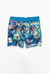 Urban Outfitters Uo Fish In The Sea Boxer Brief Assorted