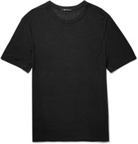 Alexander Wang T By Slub Jersey T Shirt Black