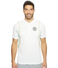 Puma X Daily Paper Polo White Men's Short Sleeve Pullover