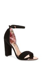 Ted Baker London Phanda Sandal Black Suede