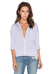 Glamorous Long Sleeve Button Up Blue