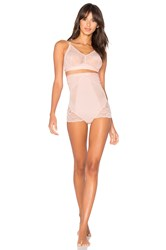 Spanx Spotlight On Lace High Waisted Brief Pink