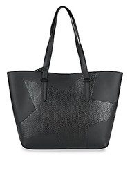 Kendall Kylie Classic Star Tote Black