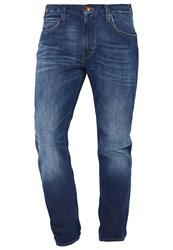 Lee Arvin Straight Leg Jeans Favorite Blue Blue Denim