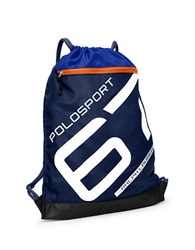 Polo Ralph Lauren Nylon Sports Bag Blue French Navy