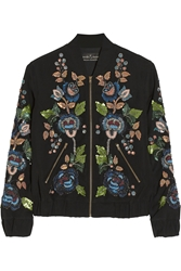 Needle And Thread Embellished Cady Bomber Jacket