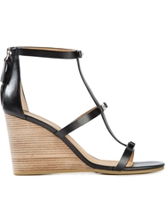 Marc By Marc Jacobs Bow Detailing Wedge Sandals