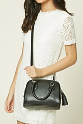 Forever 21 Faux Leather Satchel Bag