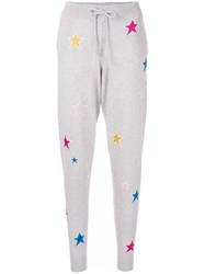 Chinti And Parker Stardust Track Pants Cashmere Grey