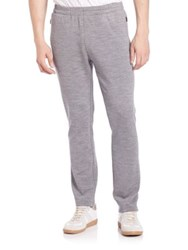 Z Zegna Techmerino Drawstring Sweatpants Grey