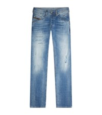 Diesel Belther Slim Tapered Jeans Blue