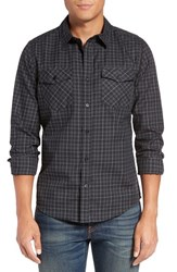 Hurley Men's Cascade Dri Fit Plaid Woven Shirt