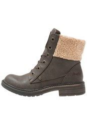 Blowfish Fader Laceup Boots Brown