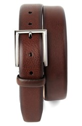 Tommy Bahama Men's Leather Belt Brown