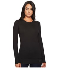 Hot Chillys Veluxe Ride Crew Neck Top Black Clothing