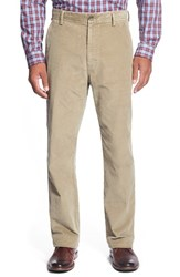 Men's Big And Tall Cutter And Buck 'Walker' Straight Leg Corduroy Pants British Tan