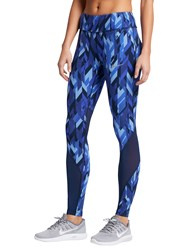 Nike Power Epic Lux Running Tights Blue
