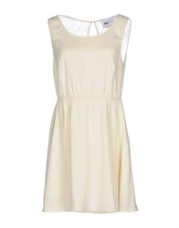 Pop Cph Dresses Short Dresses Light Yellow