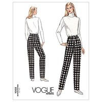 Vogue Women's Trousers Sewing Pattern 1003