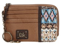 The Sak Iris Card Wallet Blue Tribal Wallet Handbags