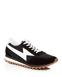 Marc Jacobs Runner Lace Up Sneakers Black