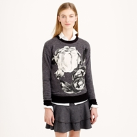 J.Crew Oversize Sweatshirt In Exploded Floral