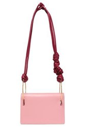 Roksanda Ilincic Woman Knotted Two Tone Leather Shoulder Bag Blush