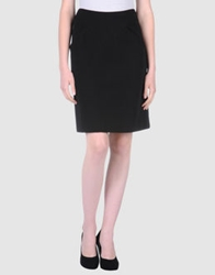 Alexis Mabille Knee Length Skirts Black